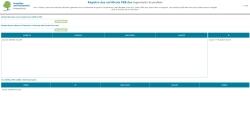 Registre certificats PEB